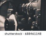 detail of video camera   film...   Shutterstock . vector #688461148