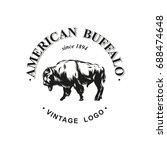 American Buffalo Logo Inked...