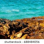 relax near sky in oman... | Shutterstock . vector #688484056
