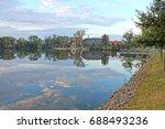 capi hnizdo    the stork s nest ... | Shutterstock . vector #688493236