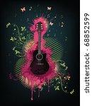 acoustic guitar | Shutterstock .eps vector #68852599
