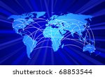 global connections concept  no... | Shutterstock .eps vector #68853544