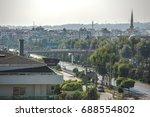turkey  alanya  konakli  street ...   Shutterstock . vector #688554802