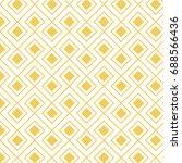 geometric pattern. geometric... | Shutterstock .eps vector #688566436