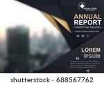 brochure flyer design template...   Shutterstock .eps vector #688567762