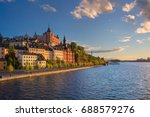 stockholm. image of old town... | Shutterstock . vector #688579276