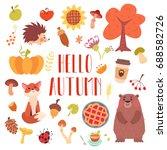 Hello Autumn Cute Animals And...