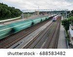 kaunas  lithuania   july 14 ... | Shutterstock . vector #688583482