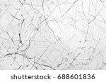 white marble luxury decor... | Shutterstock . vector #688601836