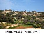 field at typical malta farmland.... | Shutterstock . vector #68863897