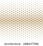 diamond seamless geometric... | Shutterstock .eps vector #688647586
