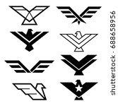 eagle geometric design  eagle's ...