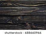 old  weather worn wood board...   Shutterstock . vector #688660966