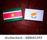 suriname flag with cypriot flag ... | Shutterstock . vector #688681345