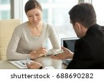 company executive coaching... | Shutterstock . vector #688690282