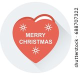 heart vector icon   | Shutterstock .eps vector #688707322