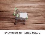 purchase or sale of goods in...   Shutterstock . vector #688750672