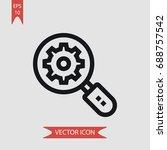 search vector icon ...