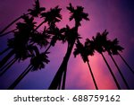 tropical blur background of... | Shutterstock . vector #688759162