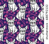 Seamless Cute Pattern With...