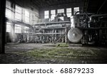 overview of an old machine room ... | Shutterstock . vector #68879233