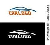 car logo for your business... | Shutterstock .eps vector #688820656