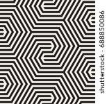 vector seamless pattern. modern ...   Shutterstock .eps vector #688850086