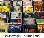 bucharest  romania   may 06 ... | Shutterstock . vector #688854286