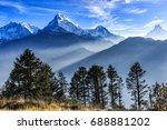 beautiful landscape photo of... | Shutterstock . vector #688881202