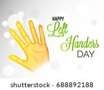 vector illustration of a banner ... | Shutterstock .eps vector #688892188