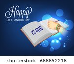 vector illustration of a banner ... | Shutterstock .eps vector #688892218