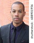 distinguished businessman... | Shutterstock . vector #688901956