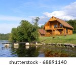 Beautiful Wooden House Near Th...