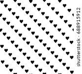 geometric diagonal stripped... | Shutterstock .eps vector #688915912