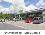swansea  uk  may 22  2016 ... | Shutterstock . vector #688925815