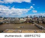 london  uk   circa june 2017 ...   Shutterstock . vector #688952752