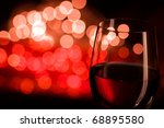 Red Wine And Blurred Lights...