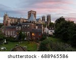 York Minster At Sunset From Th...