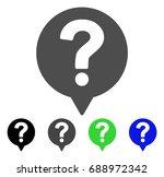 help balloon flat vector... | Shutterstock .eps vector #688972342