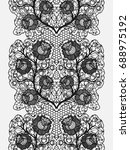 lace seamless belt with... | Shutterstock .eps vector #688975192