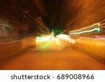 lighting effect  lines in... | Shutterstock . vector #689008966