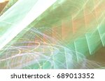 lighting effect  multicolored... | Shutterstock . vector #689013352