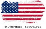 united states of america flag... | Shutterstock . vector #689041918