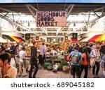 neighbourgoods market  this is... | Shutterstock . vector #689045182