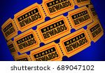 member rewards join club get... | Shutterstock . vector #689047102