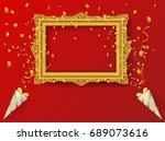 celebration background vintage... | Shutterstock .eps vector #689073616