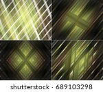 collection of images yellow.... | Shutterstock . vector #689103298