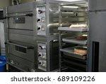 gray industrial bakery oven     Shutterstock . vector #689109226