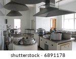 kitchen in hospital | Shutterstock . vector #6891178
