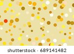 dark orange vector modern... | Shutterstock .eps vector #689141482